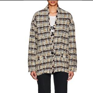 Nwot Isabel marant tweed coat